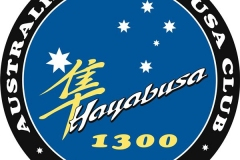 Hayabusa logo blue